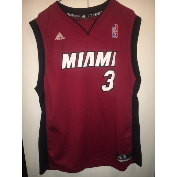 separation shoes 34e94 a079f Dwayne Wade Miami Heat Jersey